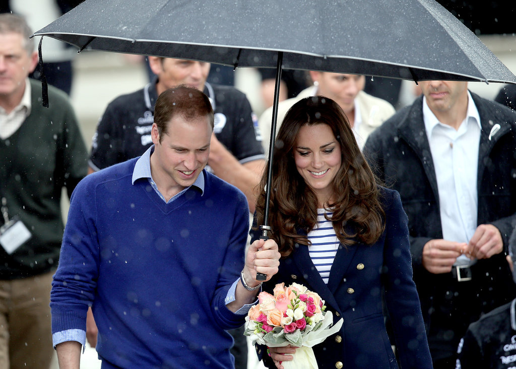 Sorry Wills! Kate Middleton Beats the Prince During a Friendly Race