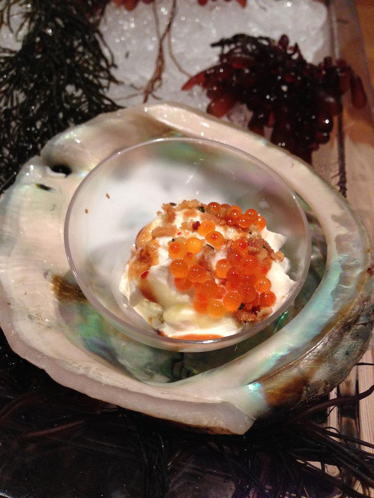 Savory Seafood Sundae