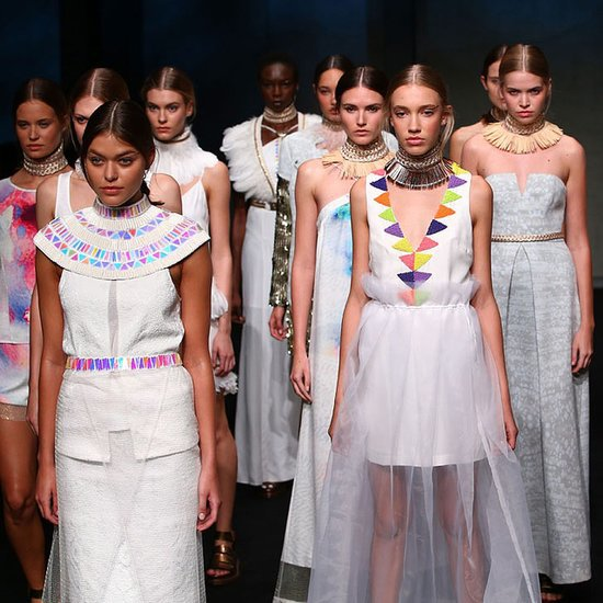 Ixiah Mercedes-Benz Fashion Week Australia 2014 Runway Show