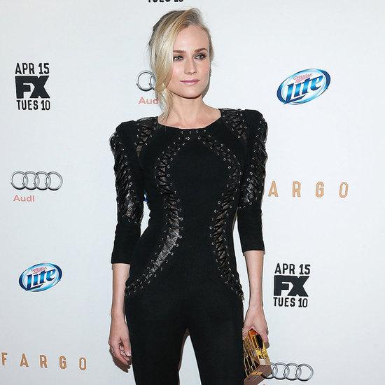 Diane Kruger Wearing a Jumpsuit