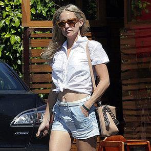 Kate Hudson Wearing a Crop Top