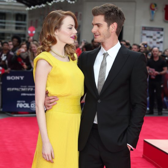 Andrew Garfield at the Amazing Spider-Man 2 London Premiere