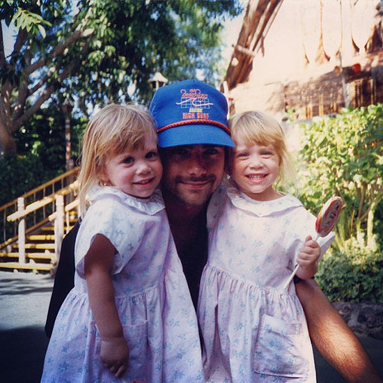 John Stamos's Throwback Picture With the Olsen Twins