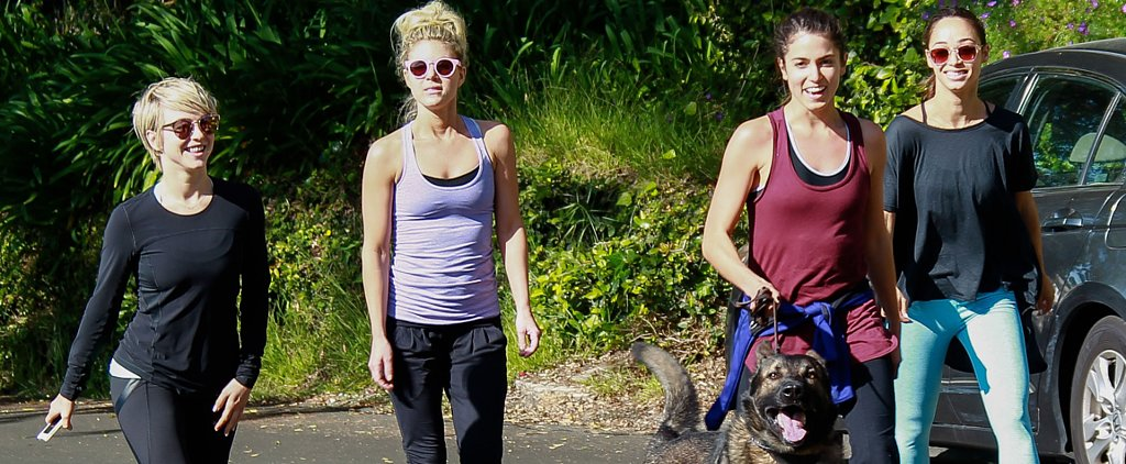 How Celebs Accessorized Their Workouts This Week