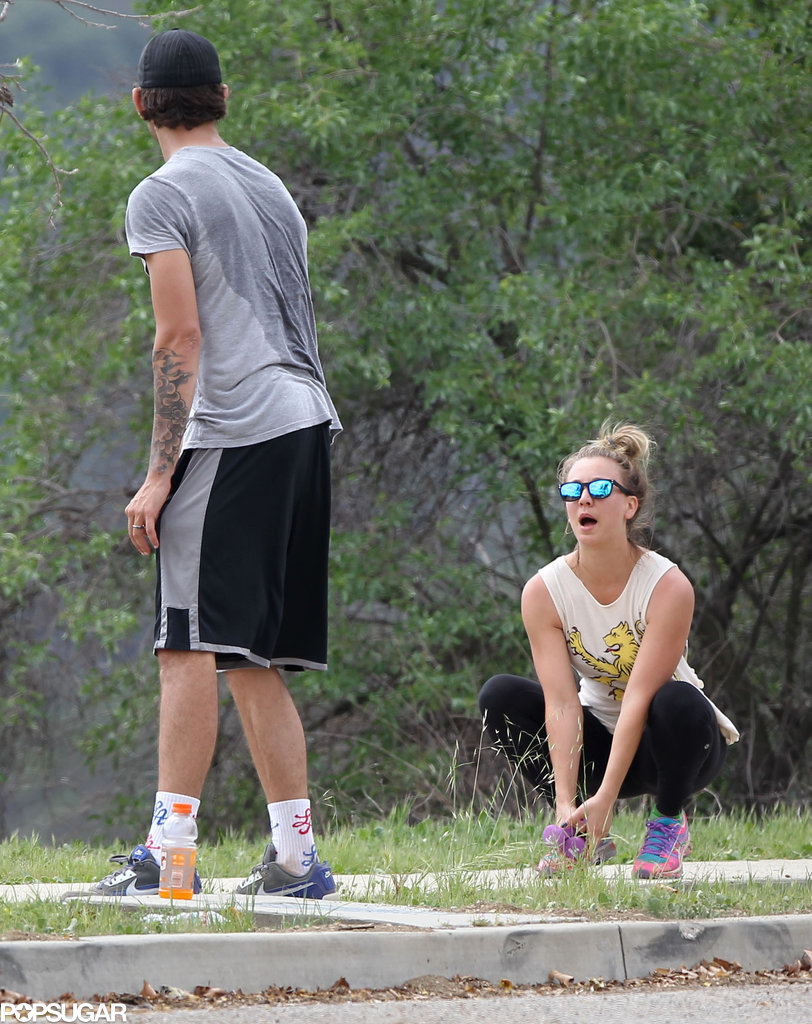 Not Even a Workout Will Stop Kaley and Ryan's PDA