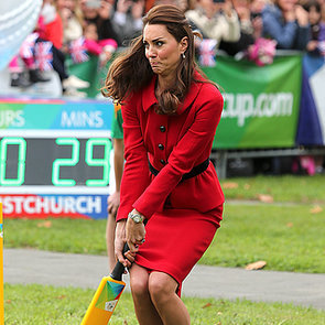 Kate Middleton and Prince William in Christchurch, NZ