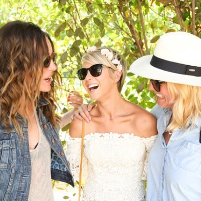 Julianne Hough hung out with friends at a Coachella bash.  Source: Instagram user juleshough