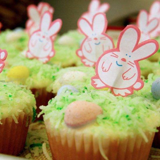 52 Weeks of Baking: Springtime Lemonade Cupcakes