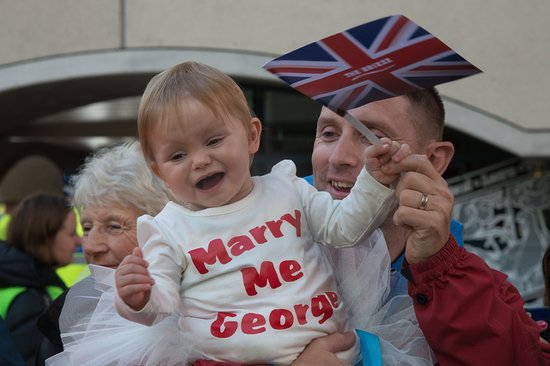 This Little Girl Is Wasting No Time in Pursuing Prince George