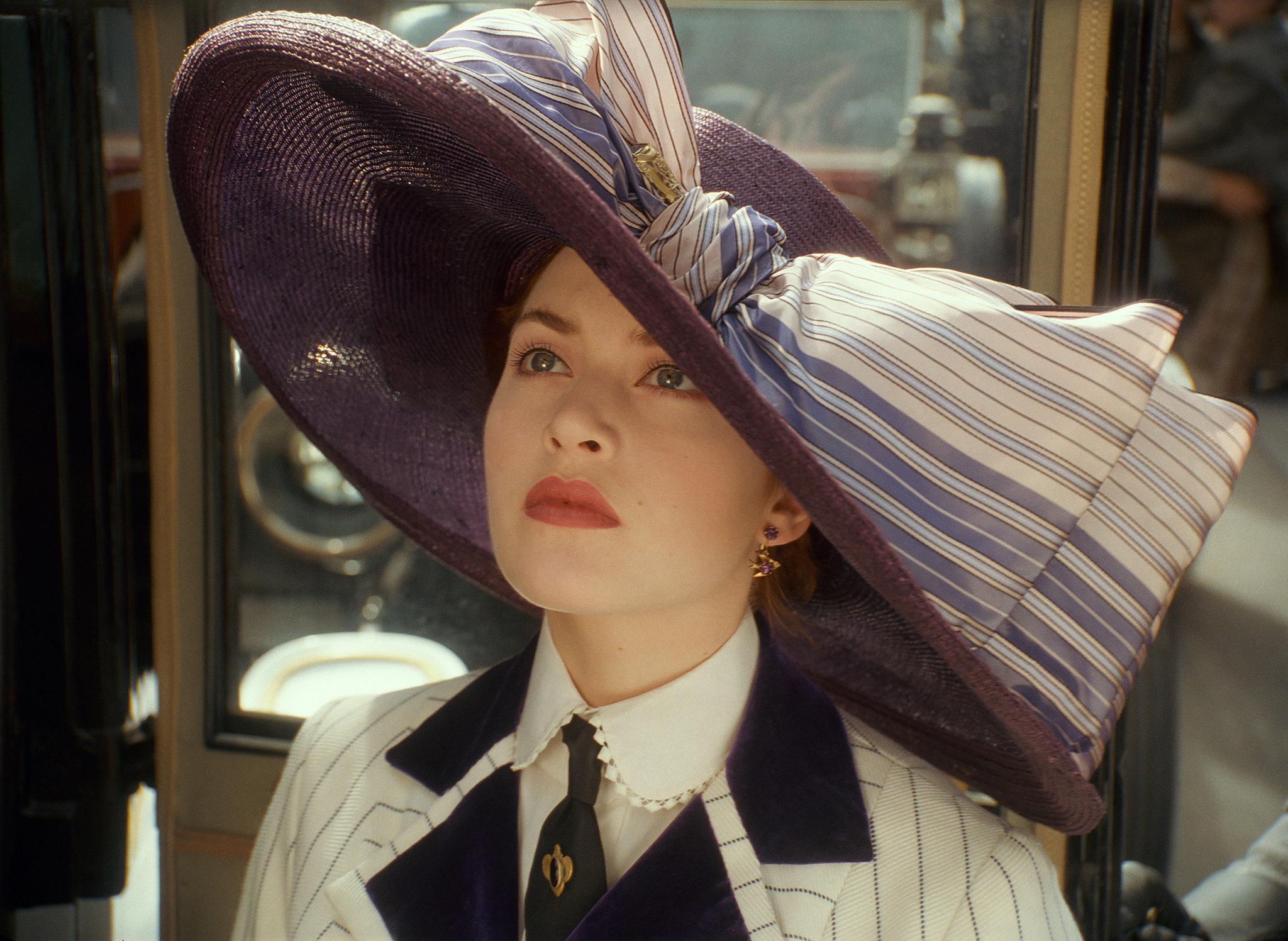 Kate Winslet in Titanic.
