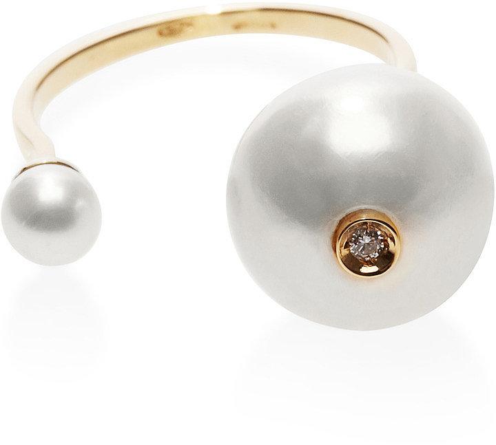 Delfina Delettrez Pearl Ring