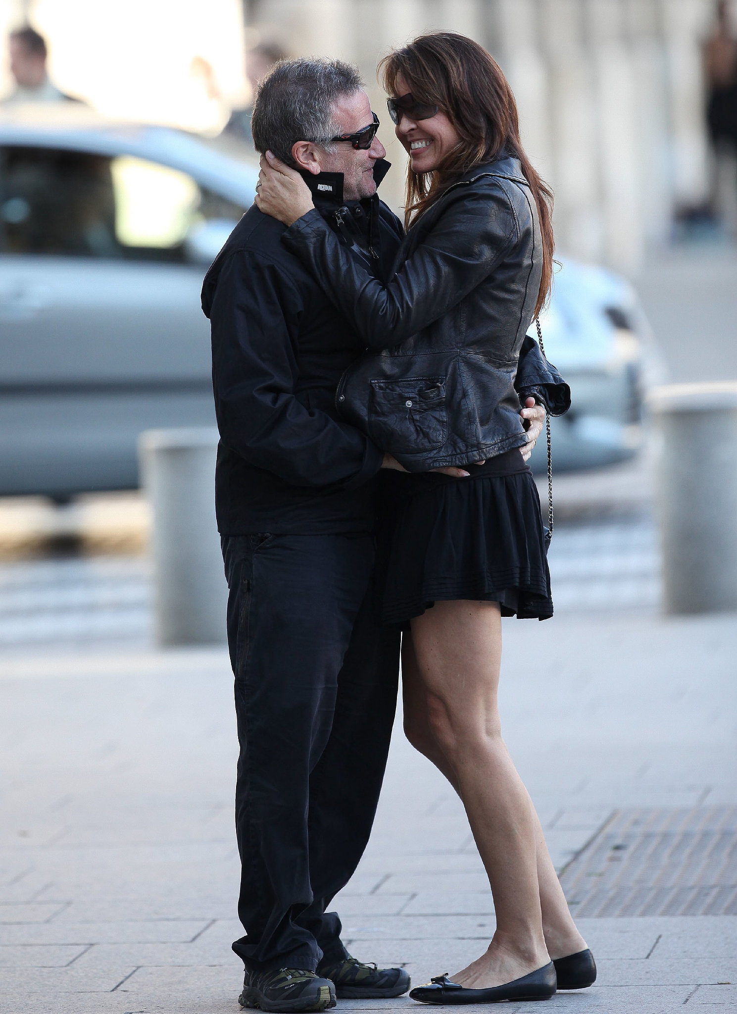 Robin Williams and his third wife Susan Schneider went to the City of Lights for their 2011 honeymoon.