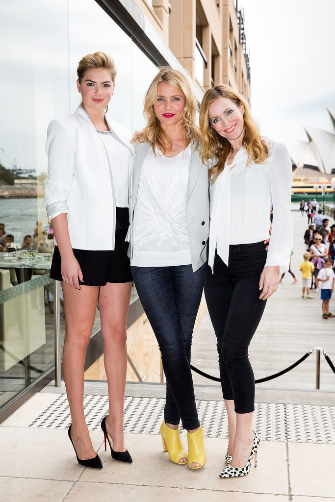 Kate Upton, Cameron Diaz, and Leslie Mann promoted The Other Woman i