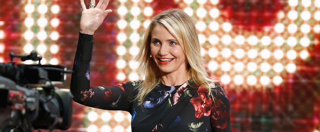 Cameron Diaz Proves Women Over 40 CAN Wear Minis!