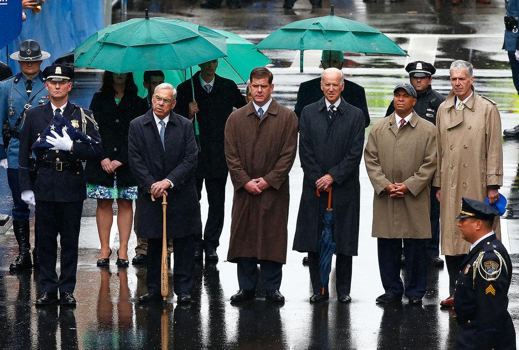 Vice President Joe Biden spoke at the one-year anniversary memorial.