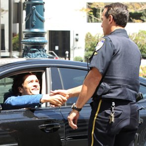 Orlando Bloom Gets Out of a Ticket With Police in LA