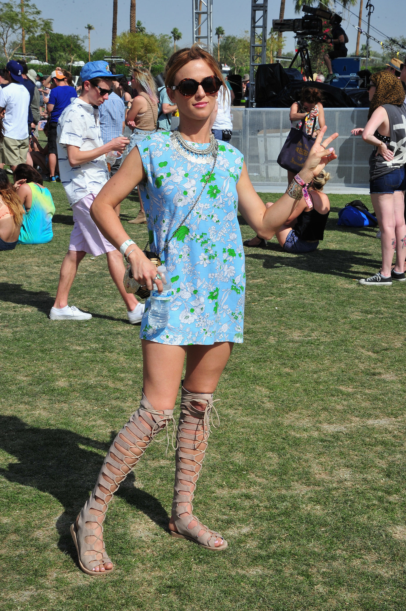 Festival Fashion: Knee-High Gladiator Sandals | We Didn't See This