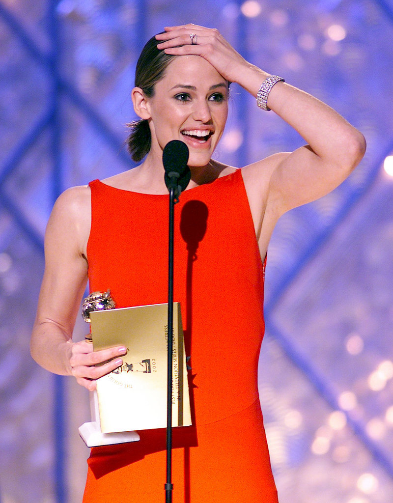 She Gets Genuinely Excited When She Wins an Award . . .