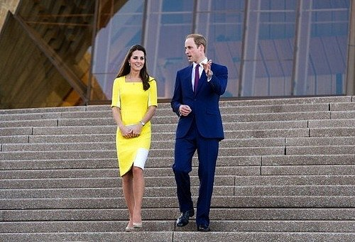 Will Said Kate Looked Like a 'Banana' in Roksanda Ilincic