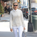 Karolina Kurkova All-White Street Style | Video