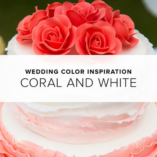 Coral and White Wedding Theme | Shopping