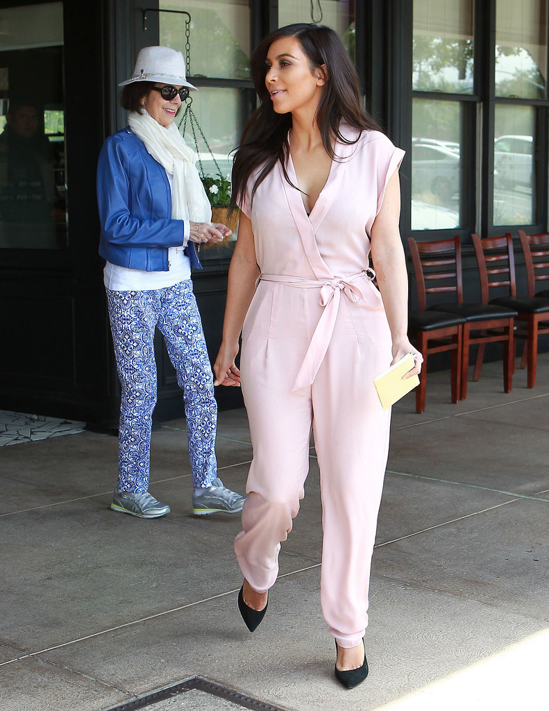 Kim Kardashian Spends Quality Time With Her Grandmother
