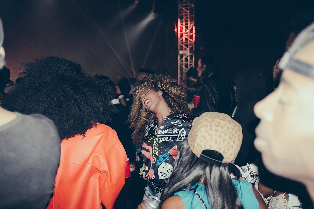 Beyoncé lost herself in the music. Source: Tumblr user beyonce