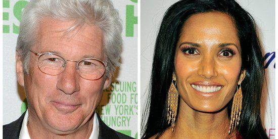 Richard Gere Reportedly Dating Padma Lakshmi
