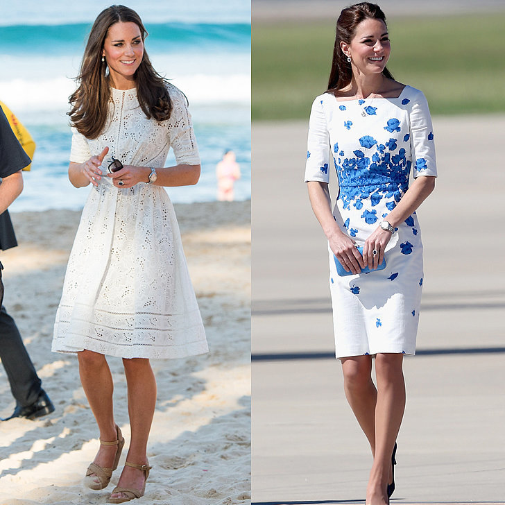 Celebrities in Midlength Dresses