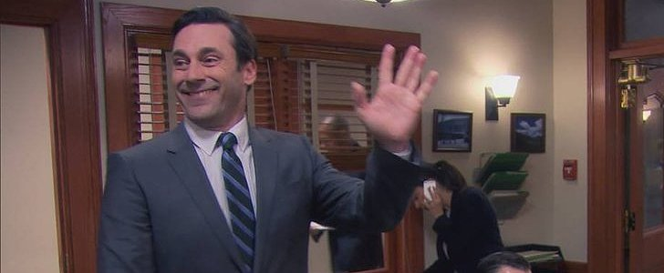 Stop Everything and Watch Jon Hamm on Parks and Recreation