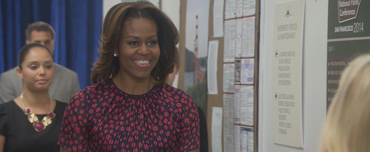 Watch Michelle Obama's Cameo on Parks and Recreation