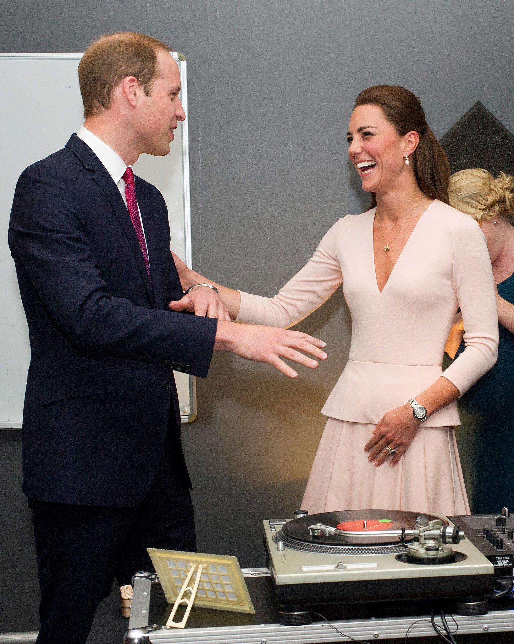 """I know, William — I'm a much better DJ than you are."""