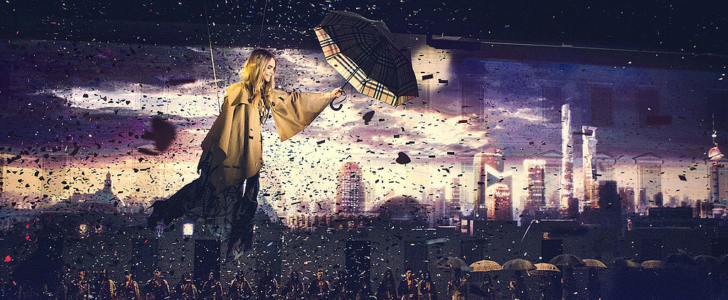Cara Delevingne Flies Over China in Burberry!