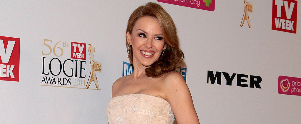 Kylie Minogue Sparkles in Roberto Cavalli at the Logies