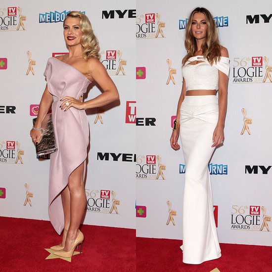 Live 2014 Logies Red Carpet Celebrity Dresses | Pictures