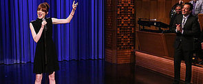 Emma Stone's Lip-Sync Skills Offer Yet Another Reason to Love Her