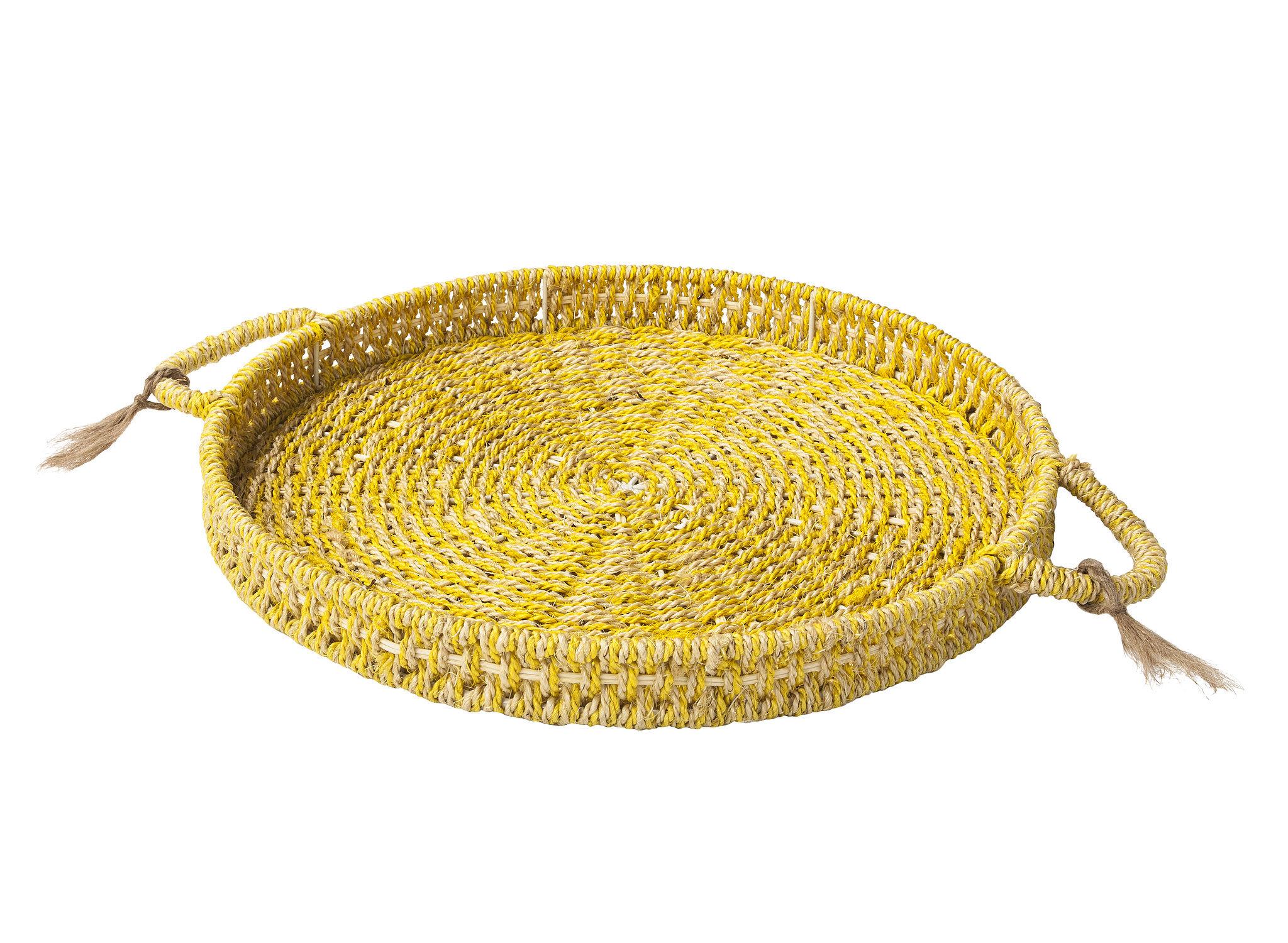 Sisal Hemp Weave Tray ($20)