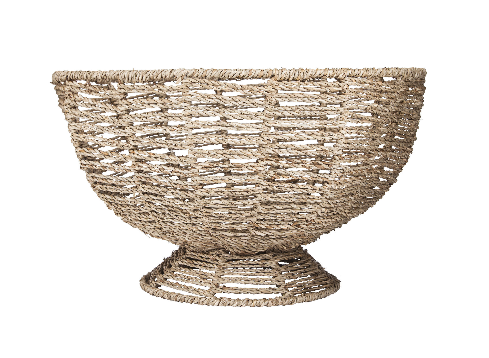 Pedestal Basket Bowl ($20)