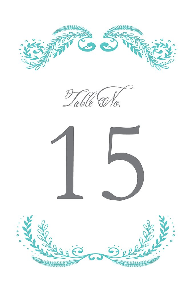 Molly Table Numbers
