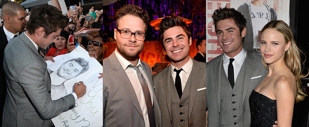 All the Amazing Things Zac Efron Did at the Neighbors Premiere