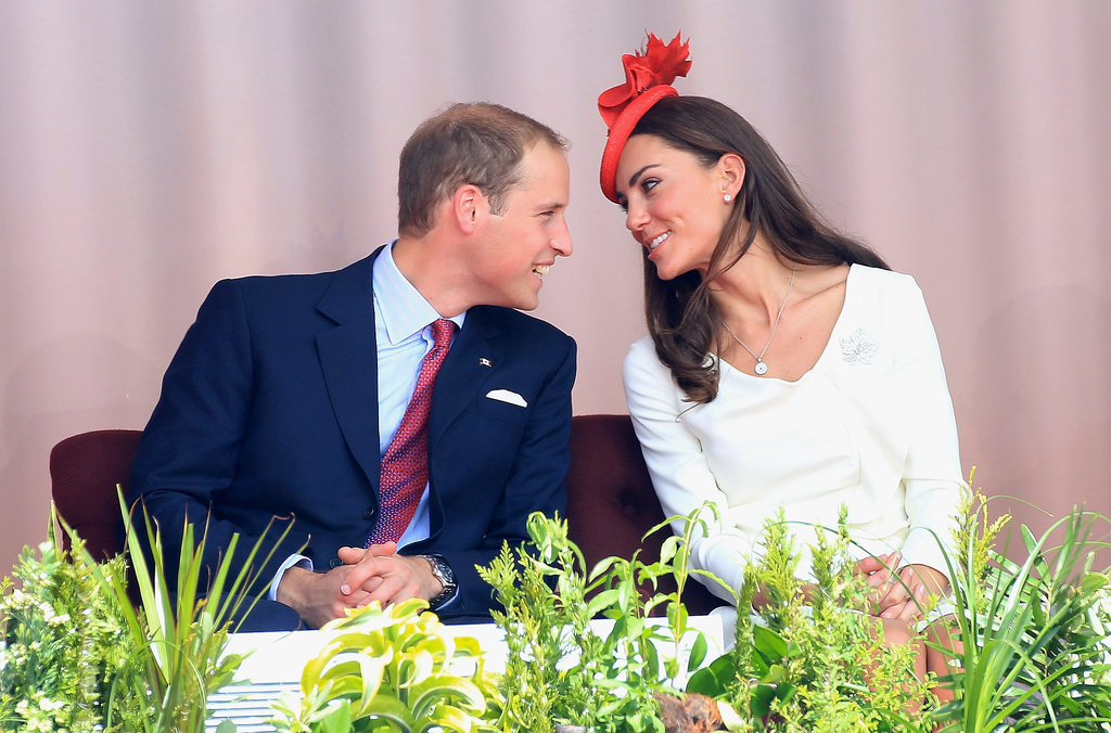 During their 2011 Canadian tour, Will and Kate got close to chat at a Canada Day event.