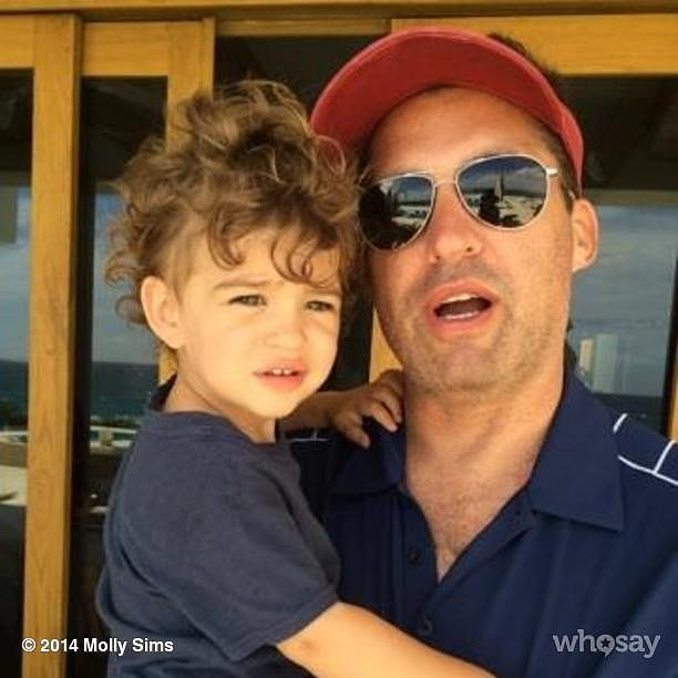 Brooks Stuber joined his dad for a day of golfing. Source: Instagram user mollybsims