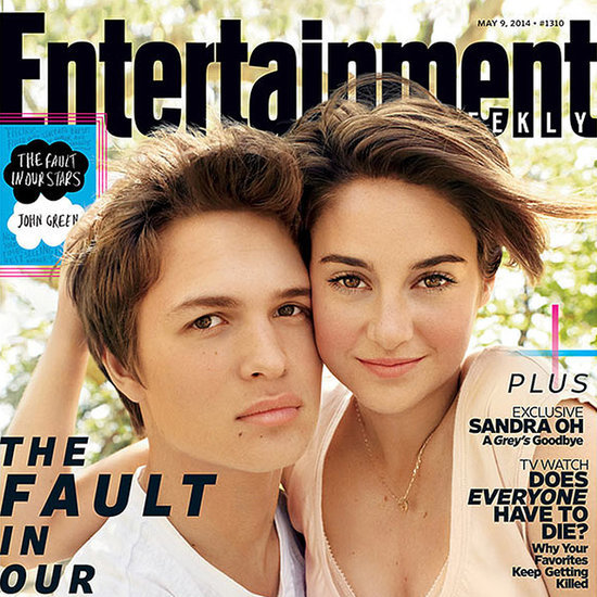 The Fault in Our Stars Entertainment Weekly Cover