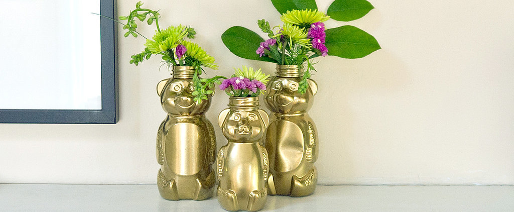 DIY Gilded Honey Bears Are So Cute