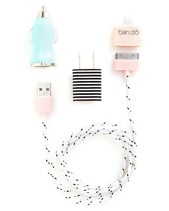 Mom, more than most people, needs multiple chargers. Give her some battery power  no matter where she is with this supercute kit ($24).