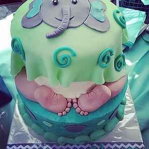 Freaky Deaky Baby Shower Cakes