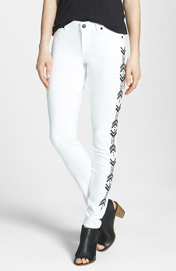 CJ by Cookie Johnson Embroidered Jeans