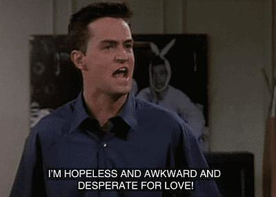 When Chandler Gets Adorably Candid About Being Needy