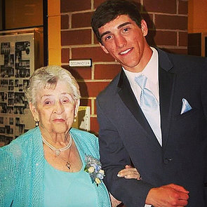 High School Senior Takes His Great-Grandma to Prom