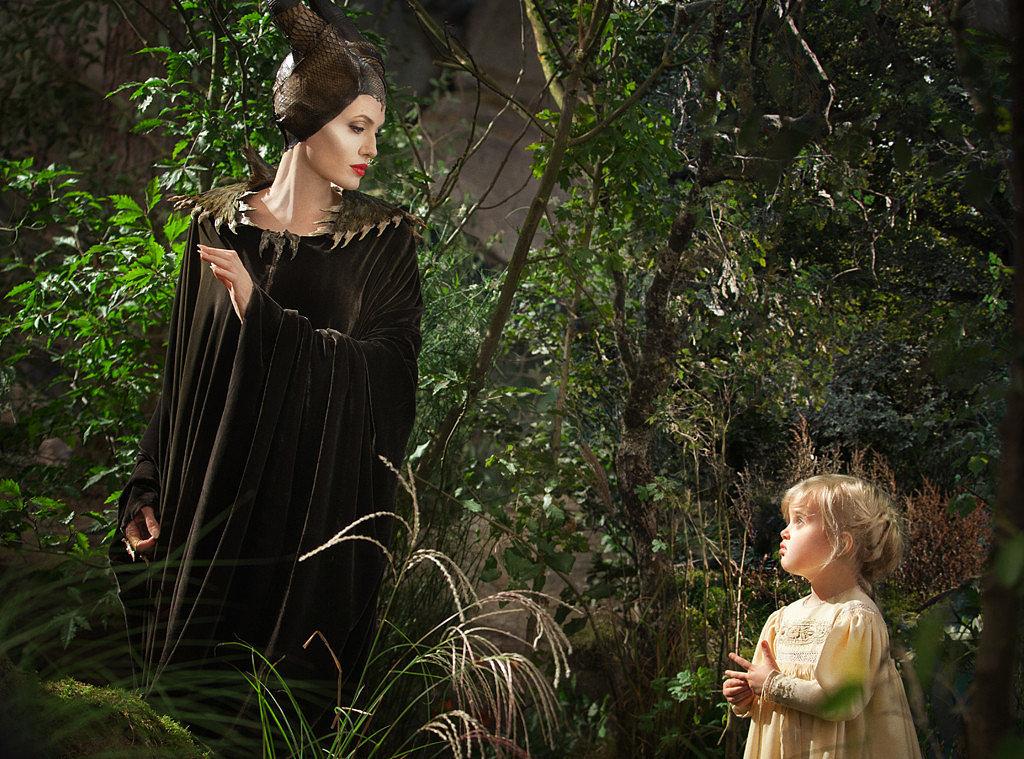 Angelina Jolie and Vivienne Jolie-Pitt